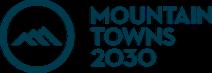 Mountain towns 2030 blue